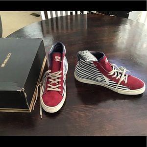 Converse Pro LTHR Vulc Mid Sneakers Size 11.5